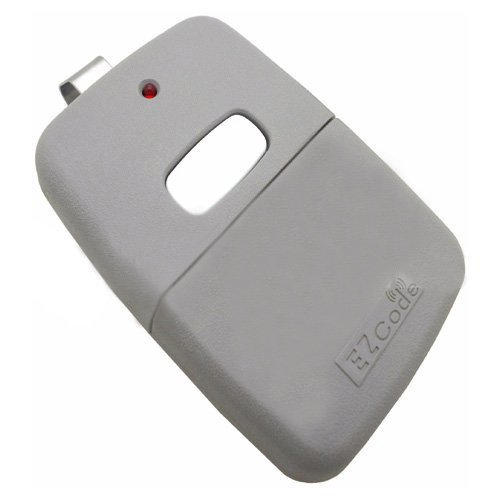 Simply Silver - 10 Digit Pins EZ Code Remote Control Garage Door Gate Opener Transmitter 300 MHz