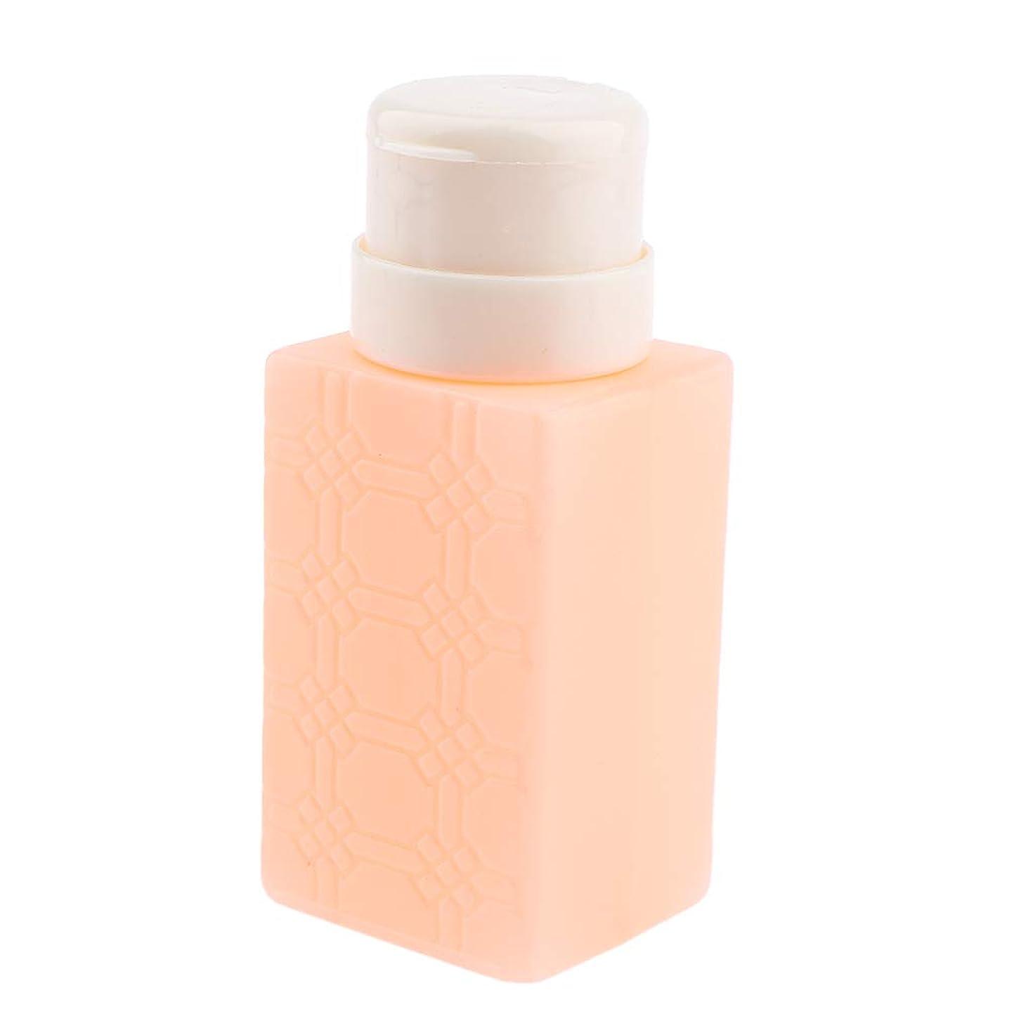 北へ販売員数F Fityle ネイルアート ディスペンサー アクリルリムーバー ポンプボトル 耐久性 4色選べ - オレンジ