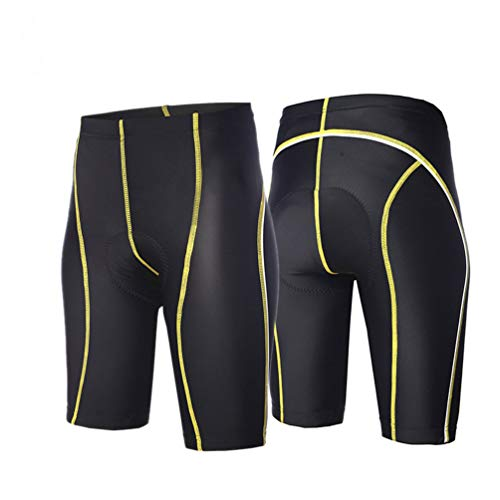 YUYAXPB Heren Fietsen Shorts, Sport Baggy Lounge Losse Fit Gewatteerde Ademende MTB hardlopen Gym Training