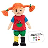 Micki & Friends 44380200 - sprechende Pippi Langstrumpf Puppe 40 cm - Jubiläumspuppe - Pippi 75...
