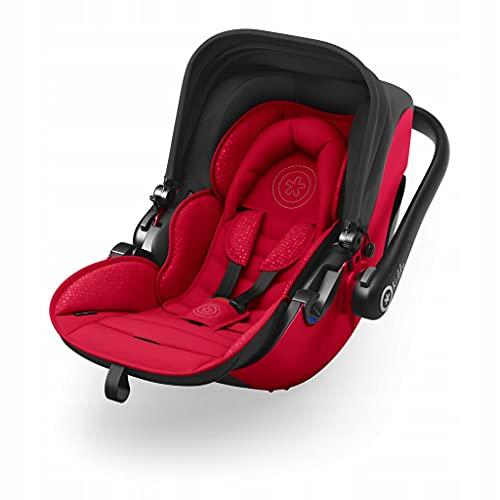 Kiddy Evolution Pro 2 Coussinets pour bébé avec fonction couchée (groupe 0+) Jusqu'à env. 15 mois (max. 13kg) Collection 2019 Candy Red