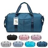 FEDUAN das Original, Sporttasche Reisetasche modisch wasserdicht mit Schuhfach Nassfach für Damen...