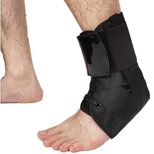 PSATO 1pcs Elastic Pressurized Knöchelstütze Einstellbare Sport Bandage Fuß Sleeve Brace Knöchel Retainer Stabilisator Verstauchungen Schutz,M