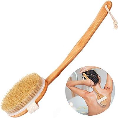 Amazon - Save 78%: Bath Body Brush,Back Brush with Detachable Long Handle for Shower,Dry Skin Brushi…