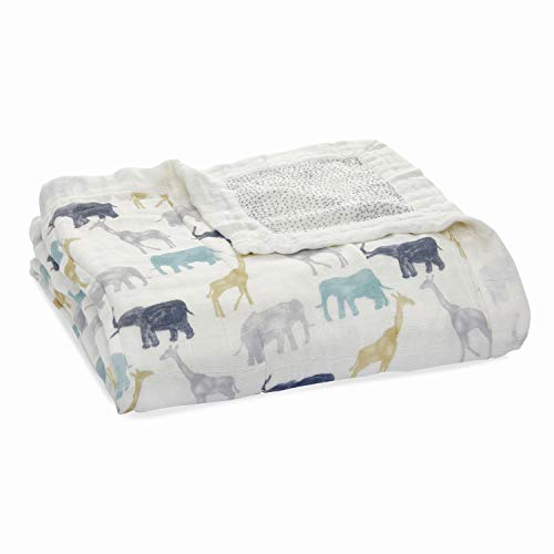 Product Image of the aden + anais Silky Soft Dream Blanket | 100% Viscose Bamboo Muslin Baby Blankets...