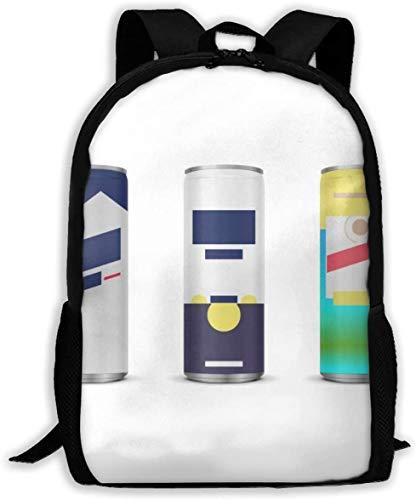 PerterOne Summer Favorite Busch Light Corona Shandy Oxford Unisex Adult Backpack Lightweight Travel Day-Packs Laptop Backpack