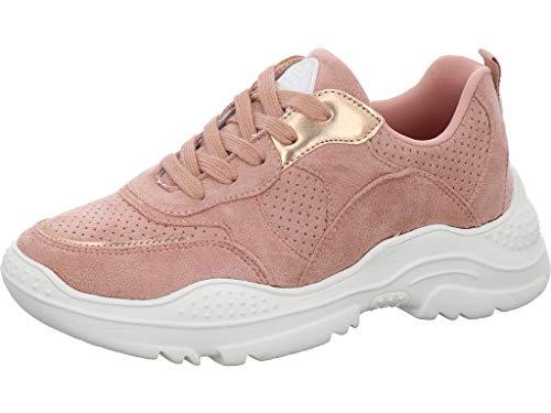BULLBOXER Platfrom Sneaker Größe 36 EU Pink (rosa)