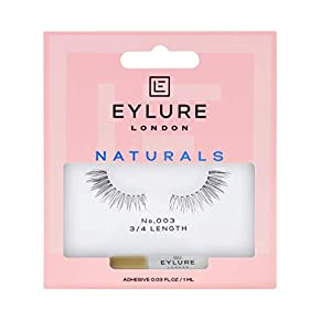Eylure Accents False Lashes,Reusable, Adhesive Included, 1 Pair