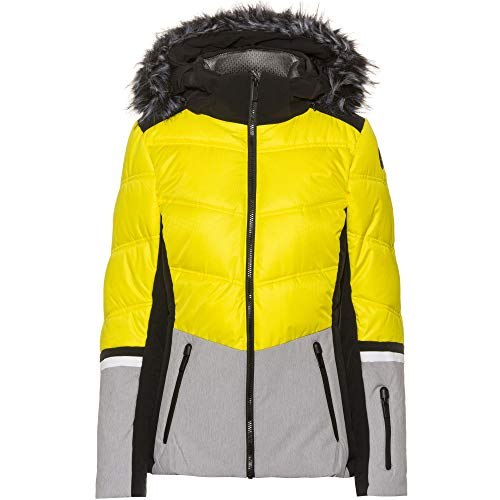 Icepeak Electra - Damen Skijacke in schwarz-gelb, Gr. 48