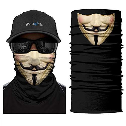 ShopINess Scaldacollo Multifunzione - Vendetta