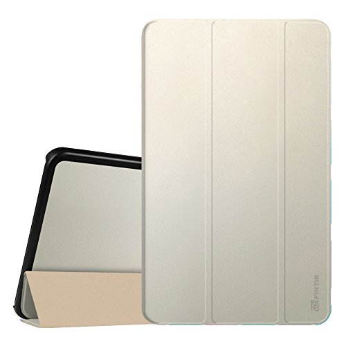 Fintie Hülle für Samsung Galaxy Tab A 10.1 2016 - Ultra Schlank Superleicht Ständer Schutzhülle mit Auto Schlaf/Wach Funktion für Samsung Galaxy Tab A 10,1 Zoll T580N / T585N, Champagner Gold