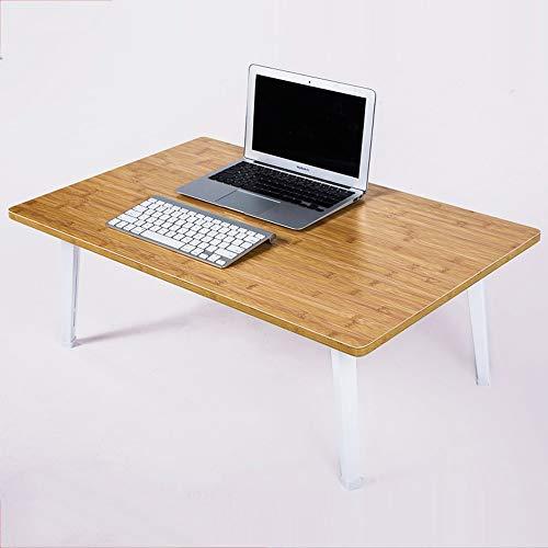 GWF Opvouwbare bed-laptoptafel voor in de vorm van een luifel, de ontbijt-tijdschriftentabel leert opvouwbaar, eenvoudig klein formaat, lichtgewicht, extra sterk, draagbaar, binnen en buiten