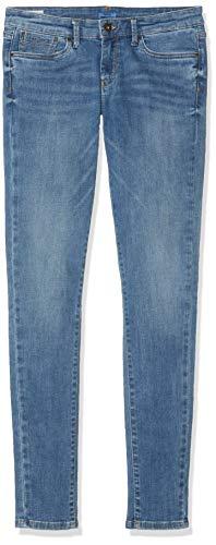 Pepe Jeans PIXLETTE Jeans, Azul (Light Used Denim Mj7), 13-14 años (Talla del Fabricante: 14) para Niñas