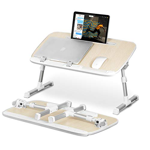 Portable Laptop Stand Desk with Tablet Slot