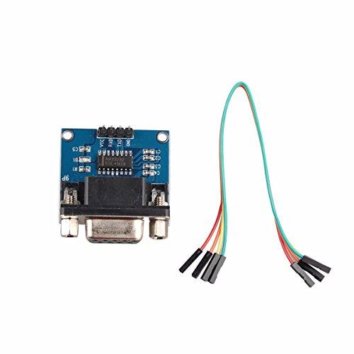 Serielle RS232-Schnittstelle mit TTL-Konverter Communication Module w/Dupont Kabel für Arduino