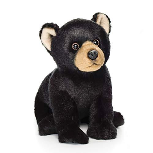 Nat and Jules Crawling Small Black Bear Children's Plush Stuffed Animal Toy