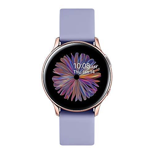 Samsung - Montre Galaxy Watch Active 2 Bluetooth - Aluminium 40 mm - Or Rose - Version Française