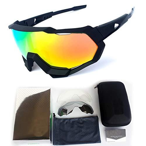 XIAOTANBAIHUO Anteojos Gafas de sol deportivas polarizadas de gran tamaño Hombres Mujeres Para Ciclismo al aire libre Béisbol Correr Pesca Golf Escalada Gafas de sol Protección UV Gafas de seguridad