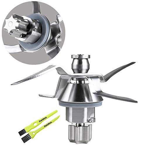 Italdos Messer kompatibel mit Vorwerk Thermomix Bimby TM31 TM 31 Mixmesser inkl Dichtung Edelstahl Thermomix Zubehör