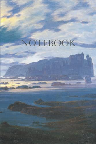 Notebook – Northern Sea in the Moonlight: 100-page notebook with artistic cover (Caspar David Friedrich Notebooks)