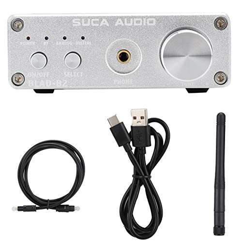 FOLOSAFENAR Bluetooth 5.0 Stereoverstärker Audio Digitalverstärker für Bluetooth 5.0 Eingangsschnittstelle