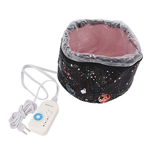 9 livelli termostato Tappo riscaldante elettrico Riscaldamento regolabile Cappuccio per capelli Cappuccio per olio in pelle Cappuccio per riscaldamento per capelli