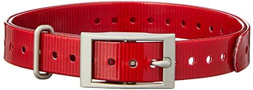 Garmin 3/4-Inch Red Collar Strap for Garmin Delta Series