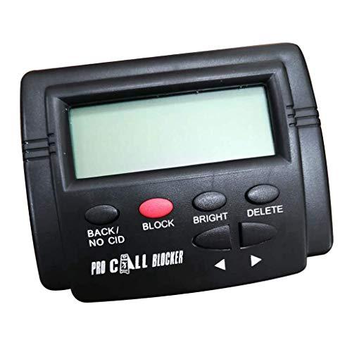Pinpig Caja de identificación de Llamadas Bloqueador de Llamadas Detener Llamadas molestas para teléfono Fijo Capacidad de 1500