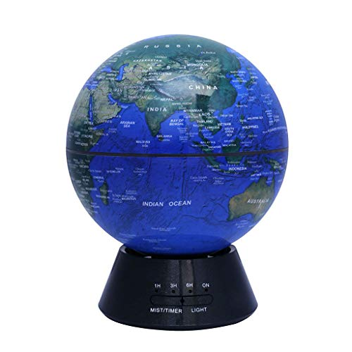 LIN HE SHOP Humidificateur formé d'arome du Globe 300ML, diffuseur d'aromatherapy d'huile Essentielle d'huile de ménage de Bureau de Silence, 16 × 20.5CM