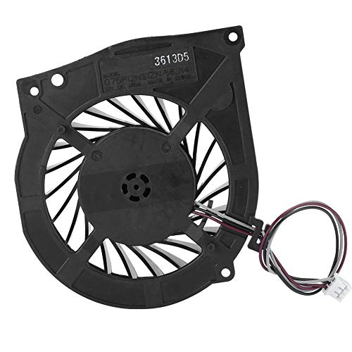 Dpofirs Game Machine Console Fan, Professional Chip Sets, Precise Cutting with Disassemble Tool Game Accessory Cooling Systems for PS3 CECH‑4201B