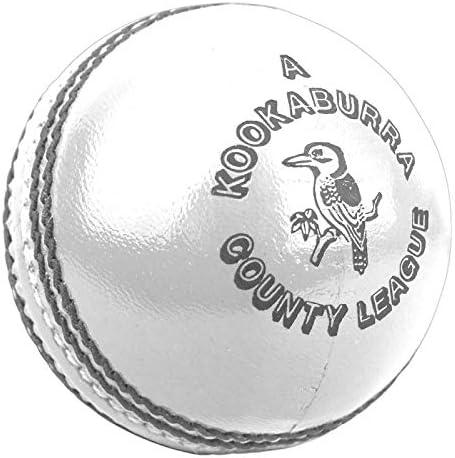 Kookaburra Unisex s County League 5 5oz Cricket Ball Pink Mens product image