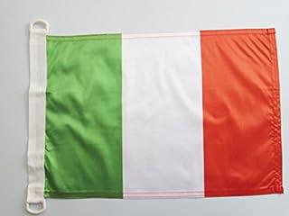 Pavillon Nautique Italie Anneaux, 45cm x 30cm