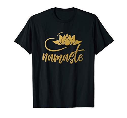 Namaste Lotus Blume | Yogi Joga Yoga T-Shirt