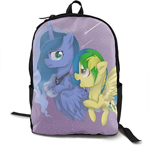 Lovely My Little Pony Rucksack für Mann Leichte Reiserucksäcke Student Rucksack Business Langlebiger Rucksack mit großer Kapazität