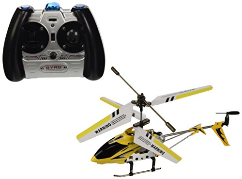 SYMA Tenergy 3 Channel S107 Mini Indoor Co-Axial Metal Body Frame & Built-in Gyroscope Helicopter (Color May Vary)