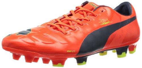 PUMA Evopower 1 FG Men's Soccer Cleats-Orange-7