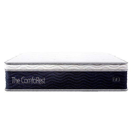 Read About TheComfoRest E#3 12 Inch Green Memory Foam Hybrid Mattress SS