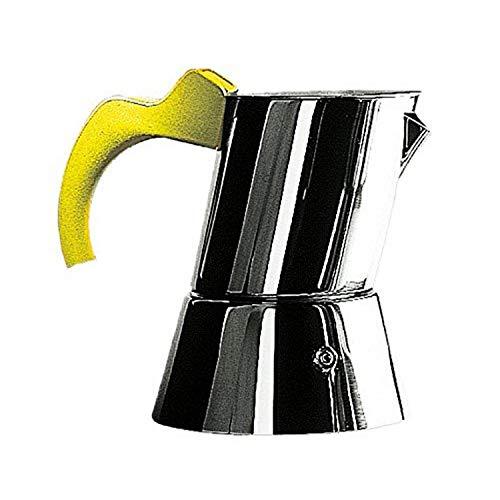 Mepra 4/6-Cup Coffee Maker, Yellow
