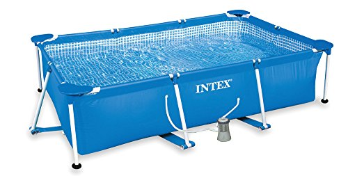 Intex Piscina Rectangular Bomba Fil 1000 L,
