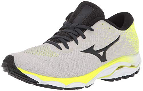 Mizuno Men's Inspire 16 WAVEKNIT Running Shoe, Nimbus Cloud-Phantom, 10.5 D