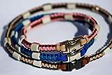Pfoetchen-Welt EM-Keramik Halsband für Hunde. Individuelle Maßanfertigung! Jetzt auch mit Namen....