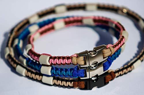 Pfoetchen-Welt EM-Keramik Halsband für Hunde. Individuelle Maßanfertigung! Jetzt auch mit Namen. Stellen Sie sich Ihr Wunschhalsband selbst zusammen. Beschreibung beachten!