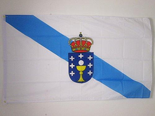 AZ FLAG Bandera de Galicia 150x90cm - Bandera GALLEGA 90 x
