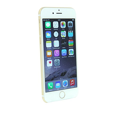 Apple iPhone 6 16GB Smartphone gold (11,9 cm (4,7 Zoll) Display, iOS 8) (Generalüberholt)