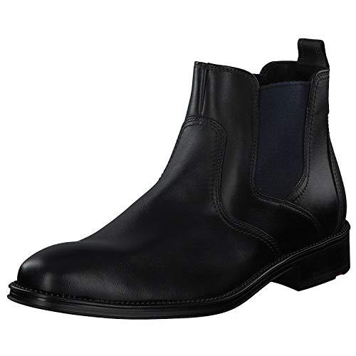 LLOYD Herren GALLO Chelsea Boots, Schwarz (Schwarz 0), 46 EU