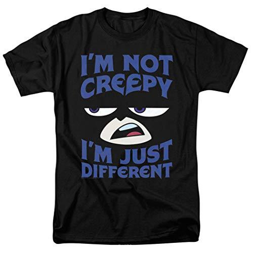 Teen Titans Go! Raven DC Comics Cartoon T Shirt & Stickers (Large) Black