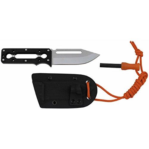 Fox Outdoor Messer,Outlive, G10-Griff, Kydex Scheide, Feuerstarter