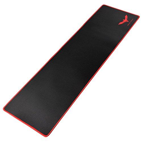 Havit Alfombrilla ratón Ordenador Extended XL (900 x 300 x 3 mm ), Superficie Impermeable y Base de Goma Antideslizante para Gamers, PC y Portátil(MP830)