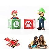 SPATACS Nintendo Switch Game Card Holder Case, Game Card Holder for Nintendo Switch Games with 16 Card Slot (Mario + Luigi)