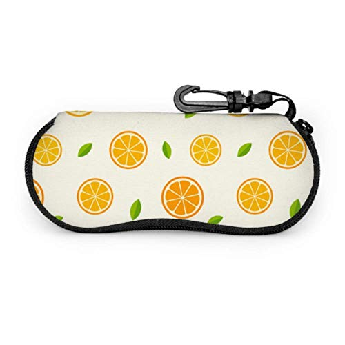 Limón Naranja Clementina Ramita Frutas Delicioso Invierno Vitamina Estuche para anteojos Estuche suave para anteojos